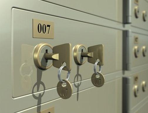 Safe Deposit Box - 2 Keys