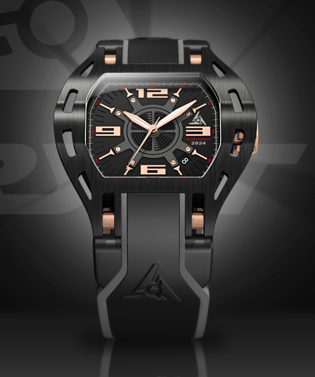 Wryst Automatic Sport Watch 2824 - front