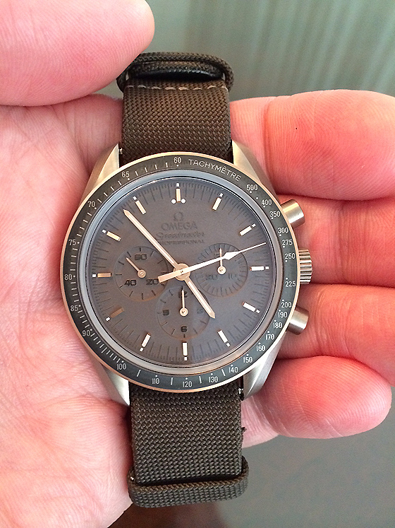 Omega Speedmaster Professional Apollo 11 - 45th anniversary edition