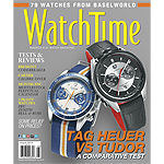 WatchTime August 2014 Cover