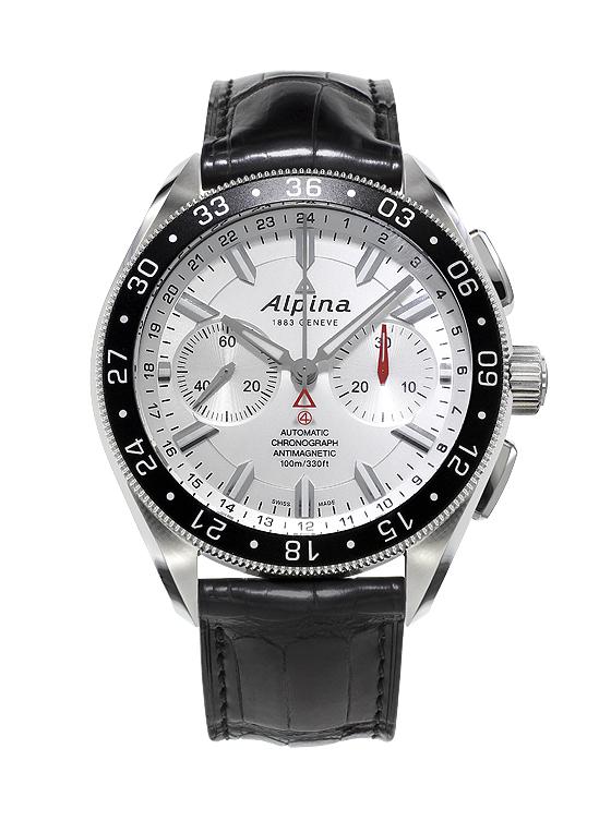 Alpina Alpiner 4 Chronograph - white