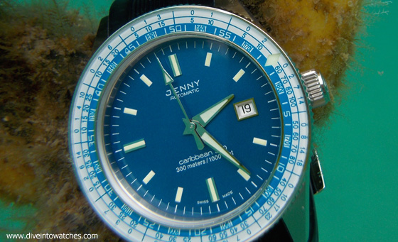 Rotating bezels and Dive watches Jenny_Caribbean_bezel_submerged_560