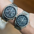 Omega Speedmaster Mark II - old and new
