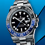 Rolex GMT-Master II black-blue bezel