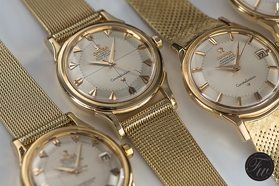 omega constellation vintage price