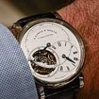 A. Lange & Sohne Richard Lange Tourbillon Pour le Merite - white-gold - wrist