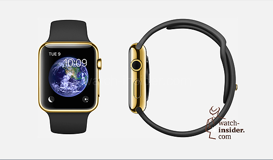 Apple Watch - gold-black