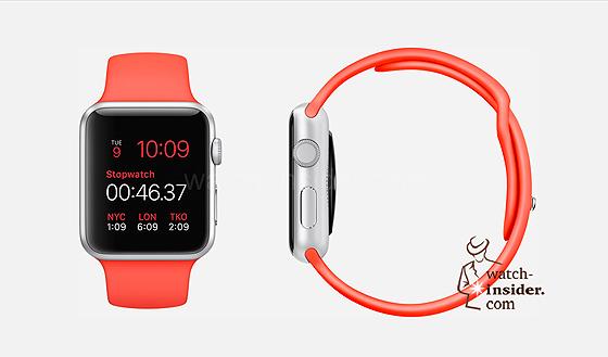 Apple Watch - orange strap