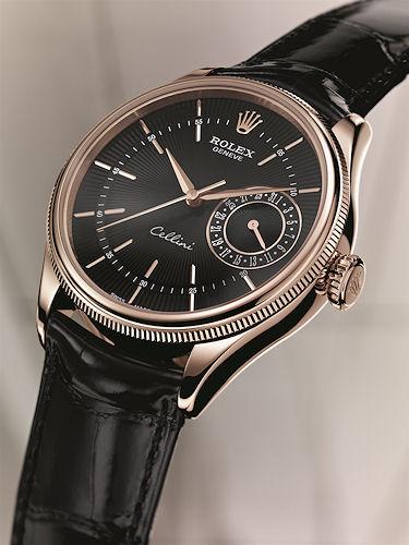 Rolex Cellini - Date model - angle
