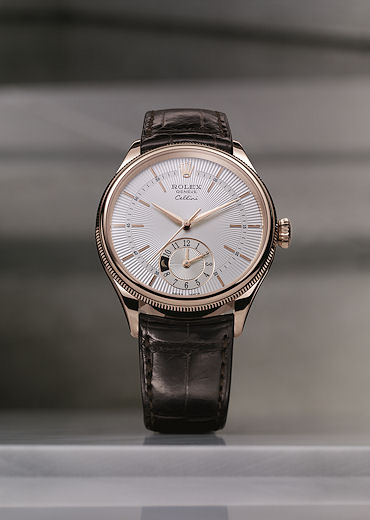 Rolex Cellini - Dual Time model - front