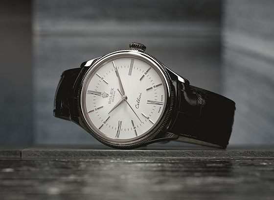Rolex Cellini - Time model - reclining