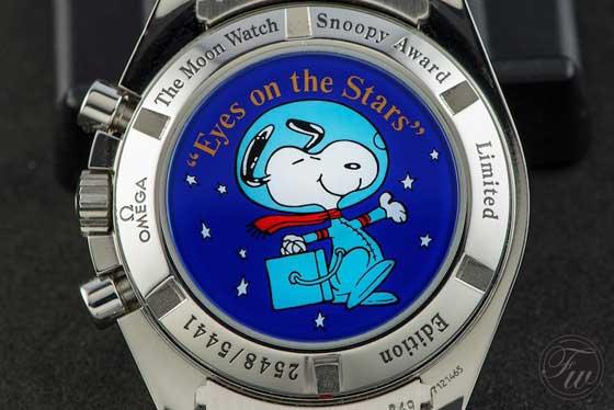 Silver Snoopy Award - caseback - caseback CU