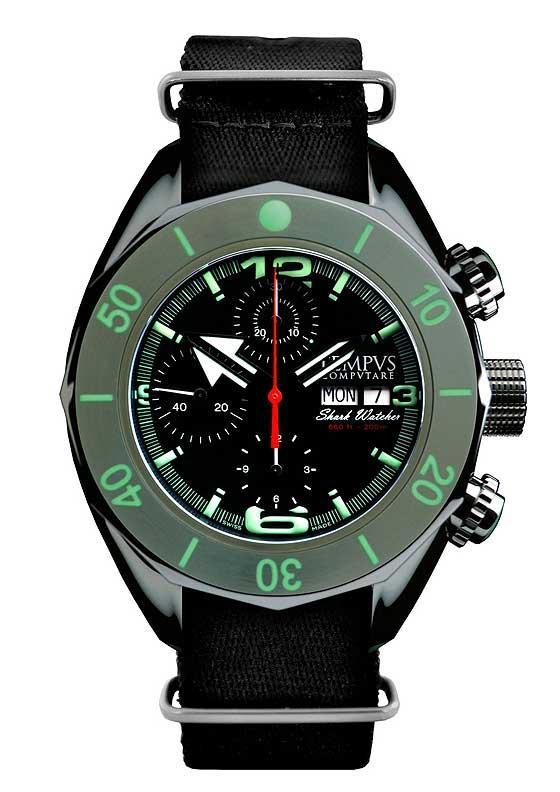 Les 10 meilleures montres de plongée que vous ne connaissez pas... Tempus_Computare_Shark_Watcher_560