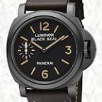 new panerai luminor black seal