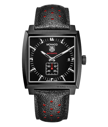 a046587bbecd9 affordable tag heuer monaco. The Monaco Calibre 6 is bold in black. Link  Calibre 16. The Link Calibre 16 combines TAG Heuer s signature chronograph  look ...