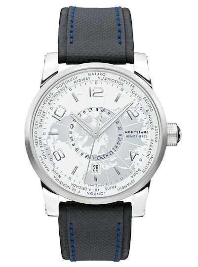 Montblanc TimeWalker Collection World-Time Hemispheres – North