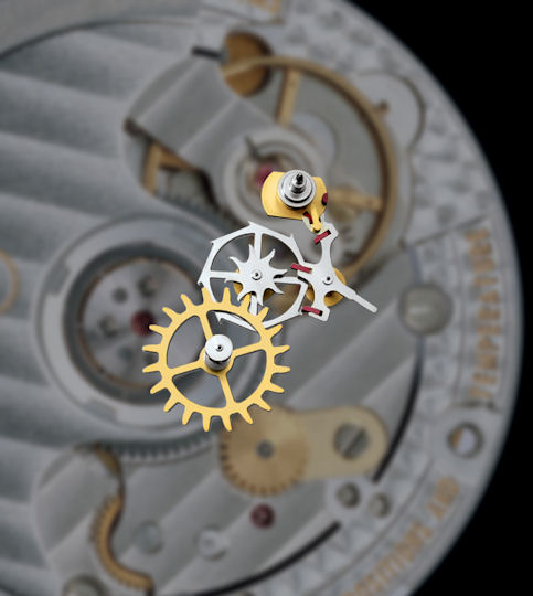 omega co-axial escapement