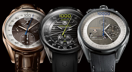 TAG Heuer Mikrograph, Mikrotimer, and Mikrogirder