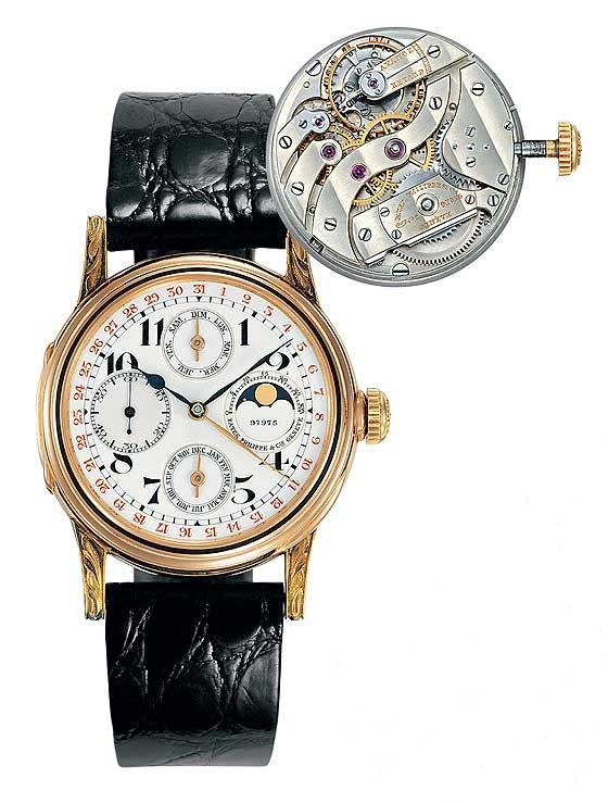 Patek Philippe - 1st Perpetual Calendar wristwatch (1925)