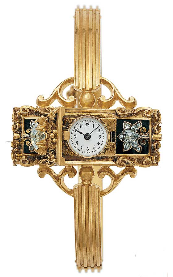 First Patek Philippe Wristwatch (1868)
