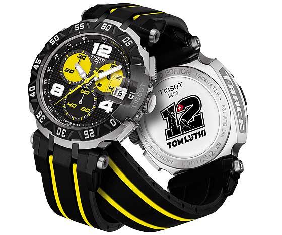 Tissot T-Race MotoGP Tom Luthi - front-back