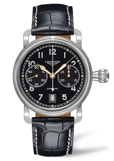 Longines Avignation Oversize Crown