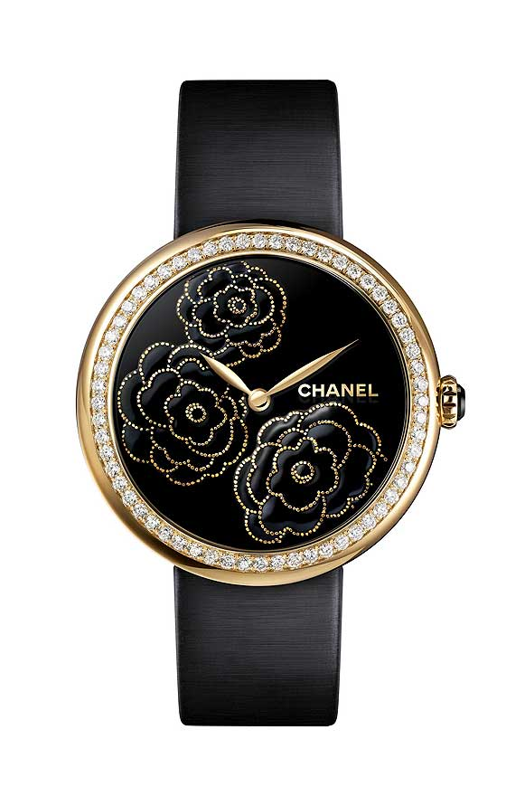 Chanel Mademoiselle Prive Decor Camelia Maki-e