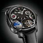 Greubel Forsey GMT Black - angle