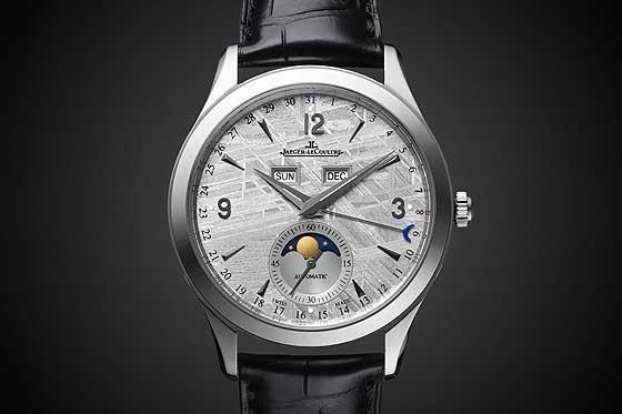 Jaeger-LeCoultre Master Calendar Meteorite dial - white