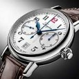 Longines Column Wheel Single-Push-Piece Chronograph