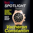WatchTime's Free Download is about Vacheron Constantin watches.