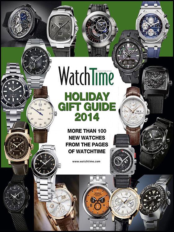 Guide cadeaux WatchTime vacances - couverture