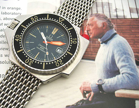 Agnelli with Omega PloProf