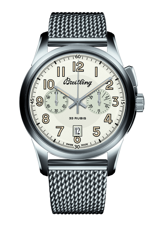 Breitling Transocean Chronograph 1915 Soldier Bracelet 560