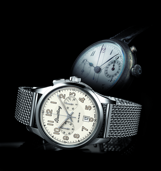 Breitling Transocean Chronograph 1915_Dial and Historic Piece 560