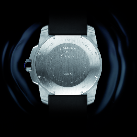 Calibre de Cartier Diver Steel (BACK)