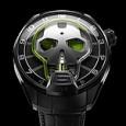 HYT Skull Green Eye - front