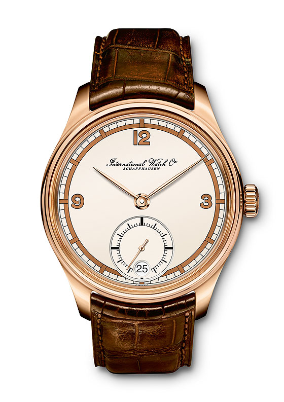 IWC Portuguieser Hand-Wound 75th Anniversary - gold