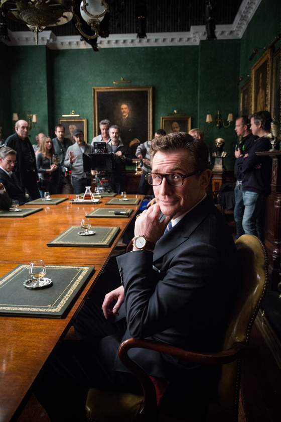 Bremont's Nick English in Kingsman