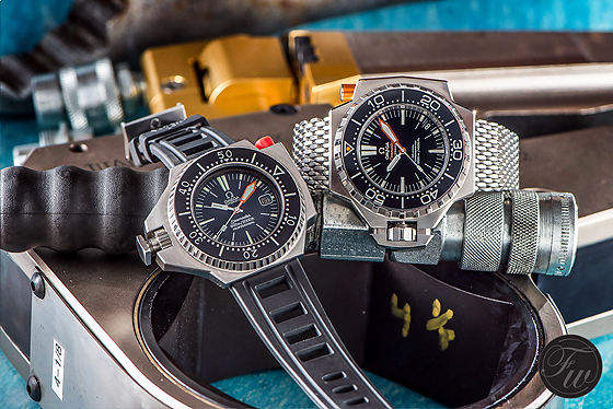 Omega Seamaster Ploprof - Old vs. New