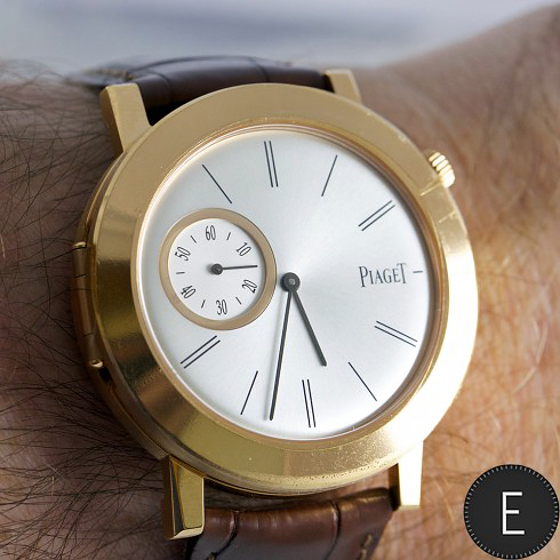 Piaget Altiplano Double Jeu watch