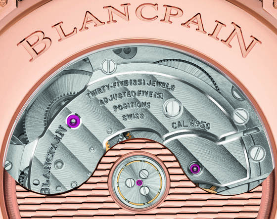 Replica Blancpain Villeret Grand Date movement CU 560