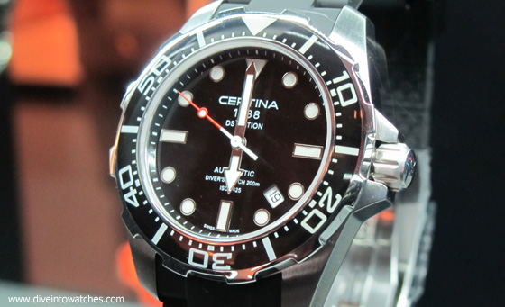 Certina DS Action Diver original - Baselworld 2011