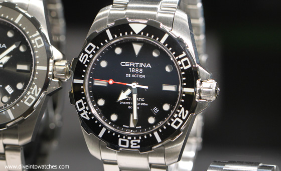 Certina DS Action Diver - redesigned - Baselworld 2013