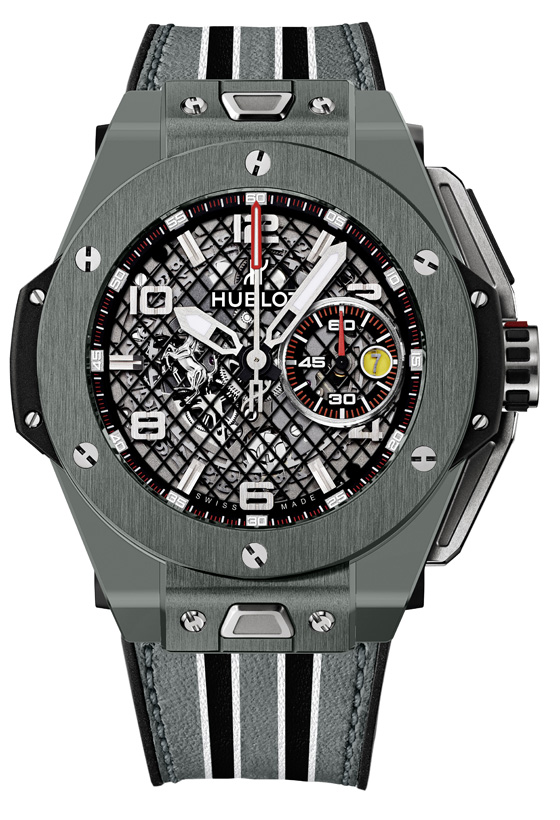 Hublot Big Bang Ferrari Grey Ceramic soldier 560