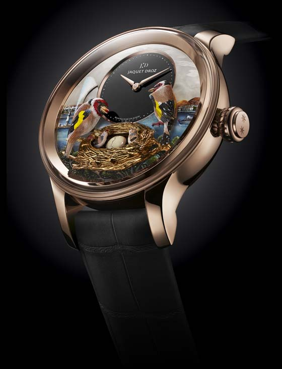 Jaquet Droz Bird Repeater Geneva glamor 560