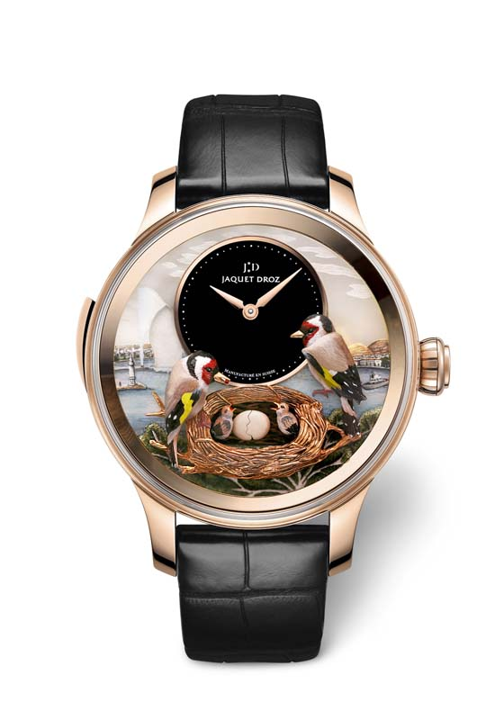 Jaquet Droz Bird Repeater Geneva soldier 560