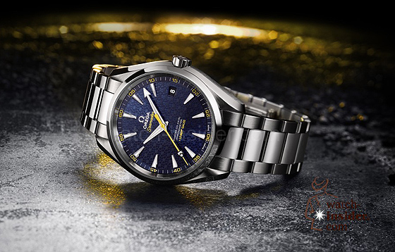 Omega Aqua Terra James Bond SPECTRE Limited-Edition - mood background