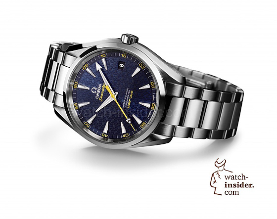 Omega Seamaster Aqua Terra James Bond SPECTRE Limited Edition - white bkgd.