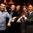 Film protagonists with Glashutte Original CEO Yann Gamard